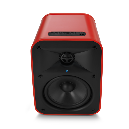 """JBL Control X Wireless - Red - 5.25"""" (133mm) Portable Stereo Bluetooth® Speakers - Detailshot 2"""