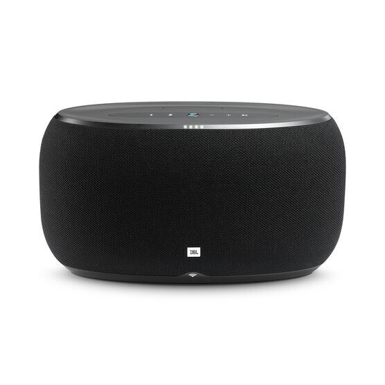 JBL Link 500 - Black - Voice-activated speaker - Front