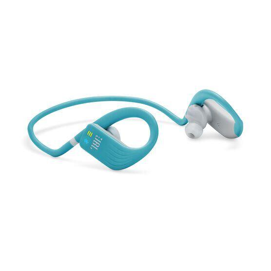 JBL Endurance DIVE - Teal - Waterproof Wireless In-Ear Sport Headphones with MP3 Player - Detailshot 4
