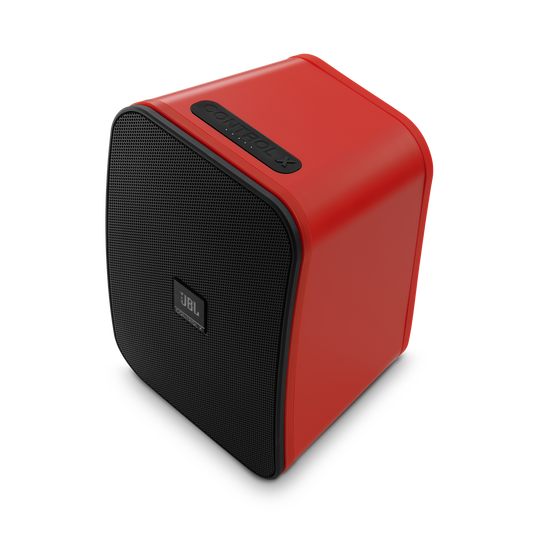 """JBL Control X Wireless - Red - 5.25"""" (133mm) Portable Stereo Bluetooth® Speakers - Detailshot 7"""