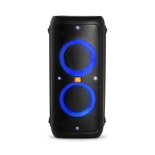 JBL PartyBox 200 - Black - Portable Bluetooth party speaker with light effects - Detailshot 2