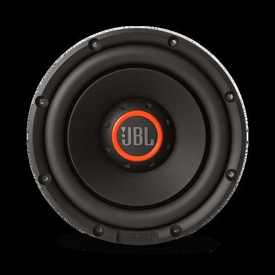 "S3-1024 - Black - 10"" (250mm) high-performance car audio subwoofer - Front"