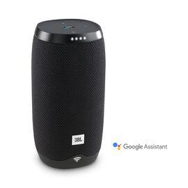 JBL Link 10 - Black - Voice-activated portable speaker - Hero