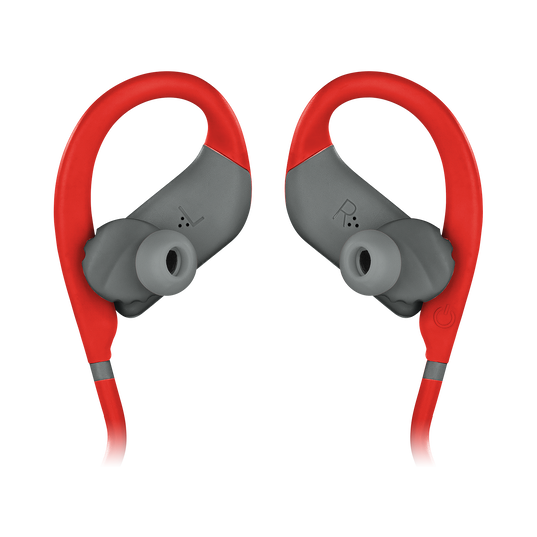 JBL Endurance DIVE - Red - Waterproof Wireless In-Ear Sport Headphones with MP3 Player - Detailshot 1