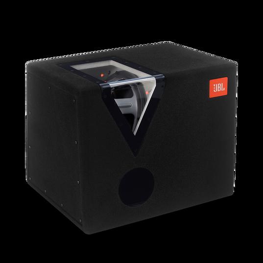 "GT-12BP - Black - 12"" (300mm) car audio bandpass subwoofer box - Hero"
