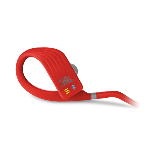 JBL Endurance DIVE - Red - Waterproof Wireless In-Ear Sport Headphones with MP3 Player - Detailshot 2