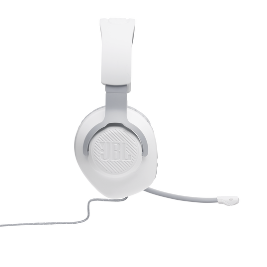 JBL Quantum 100 - White - Wired over-ear gaming headset with a detachable mic - Detailshot 6