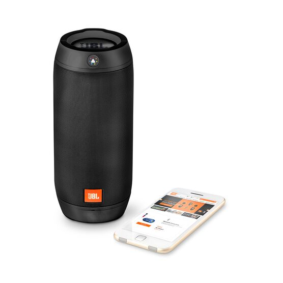 jbl pulse 2 splashproof bluetooth speaker with light show On housse jbl pulse 3