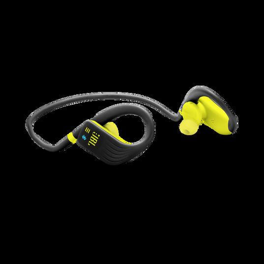JBL Endurance DIVE - Yellow - Waterproof Wireless In-Ear Sport Headphones with MP3 Player - Detailshot 4