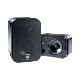JBL Control 1 Pro - Black - Two-Way Professional Compact Loudspeaker System - Hero