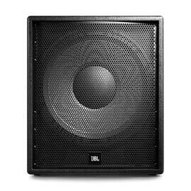 """PRX318SD - Black - 18"""" Compact Subwoofer System - Hero"""