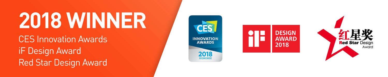 CES, iF & RedStar Awards