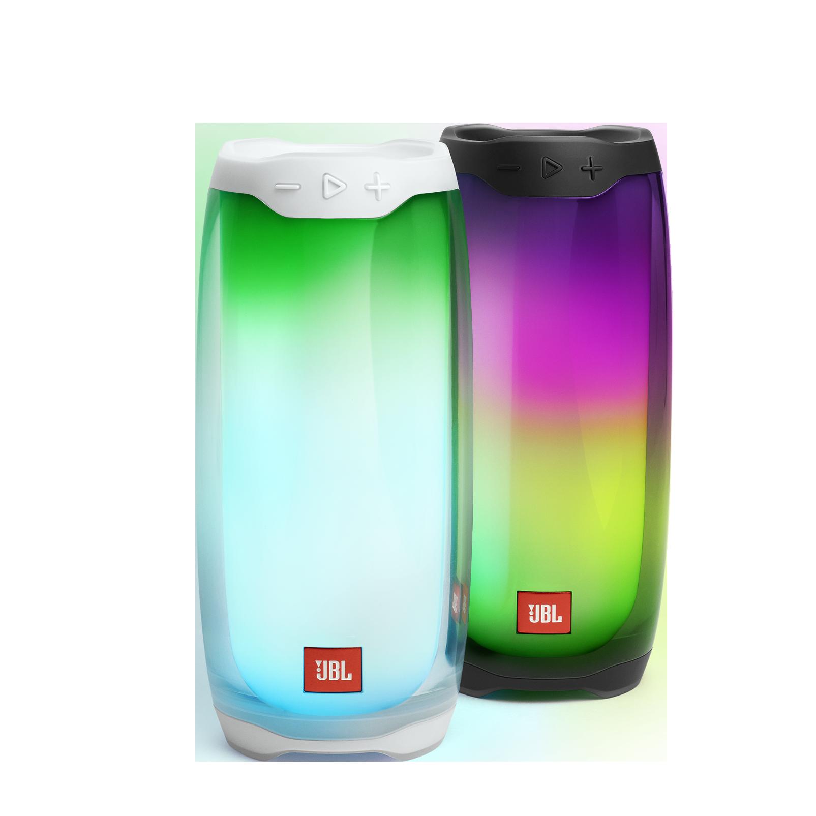 JBL Pulse 4 - Black - Portable Bluetooth Speaker - Detailshot 1