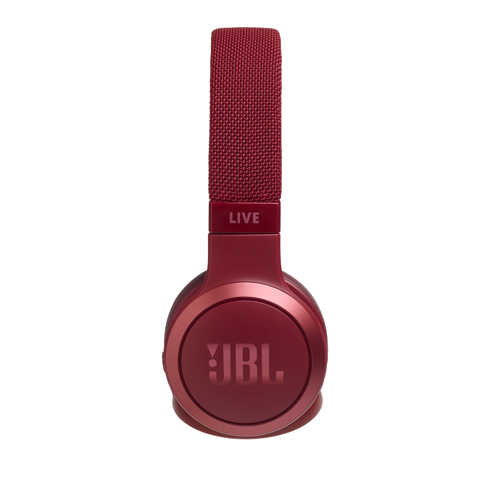 JBL LIVE 400BT - Red - Your Sound, Unplugged - Detailshot 1