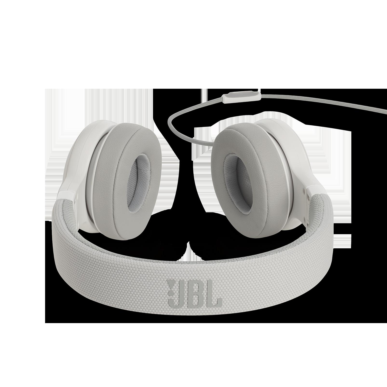 E35 - White - On-ear headphones - Detailshot 4