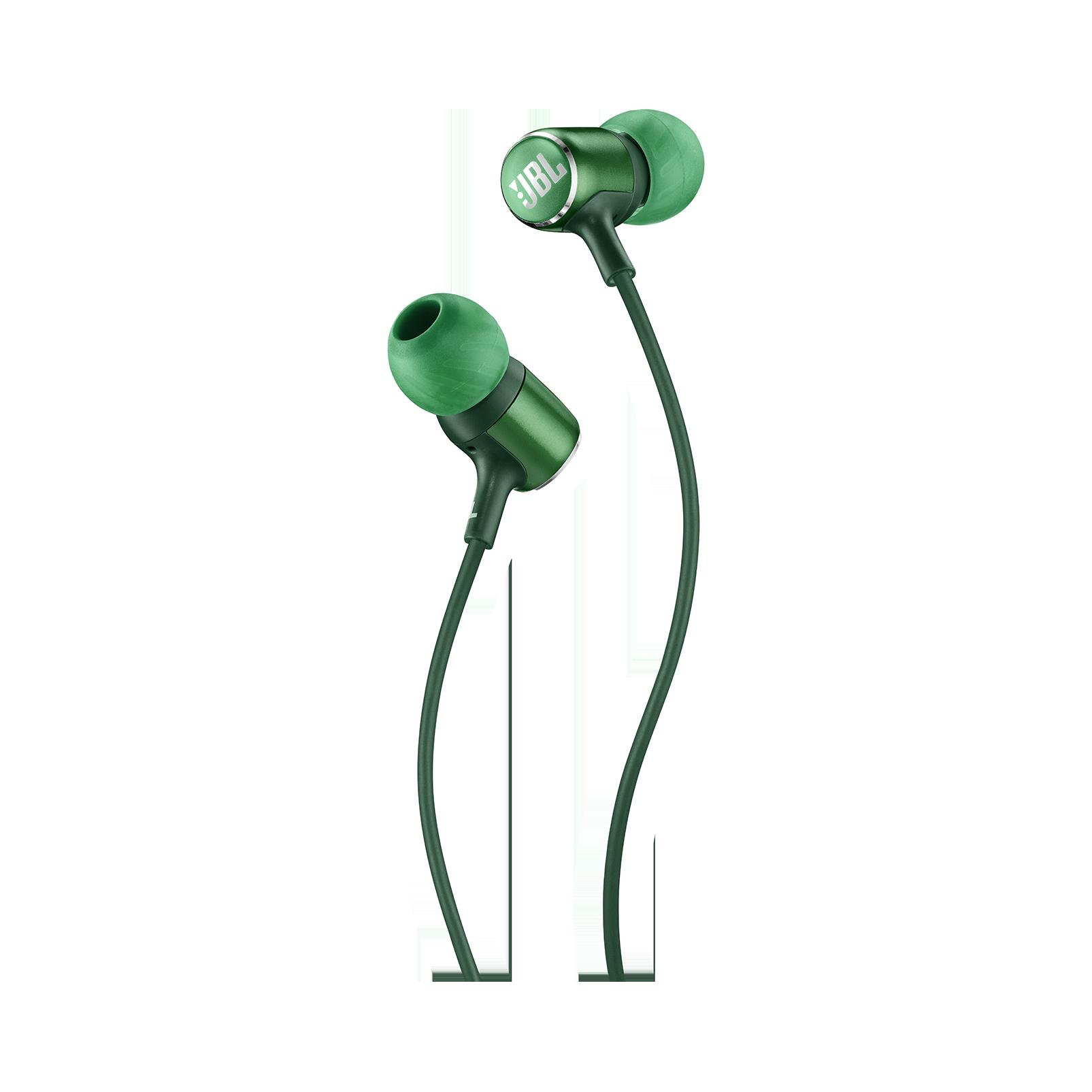 JBL LIVE 100 - Green - In-ear headphones - Detailshot 1