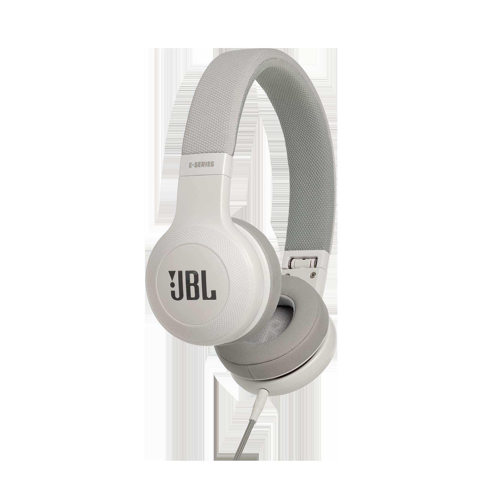 E35 - White - On-ear headphones - Hero