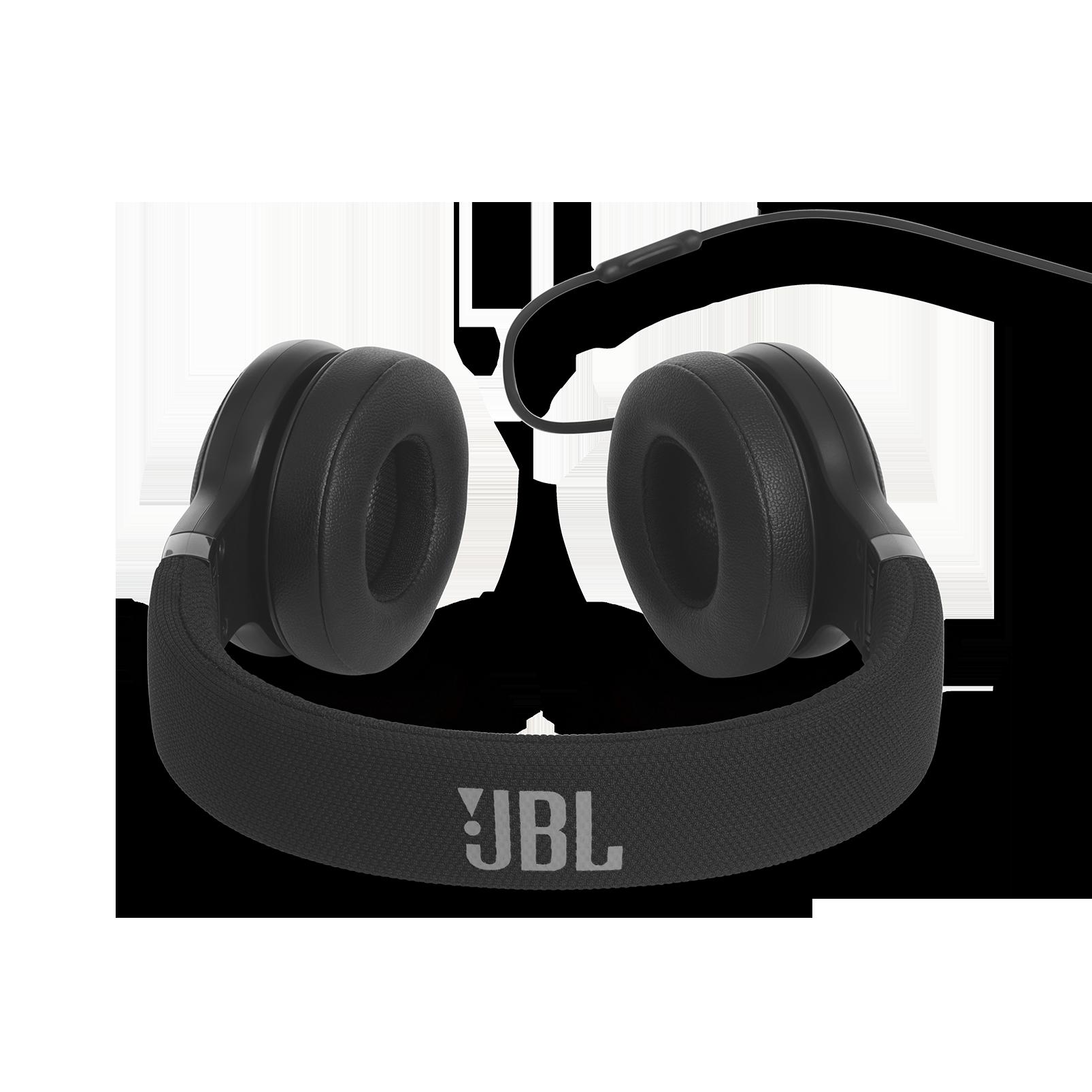 E35 - Black - On-ear headphones - Detailshot 4