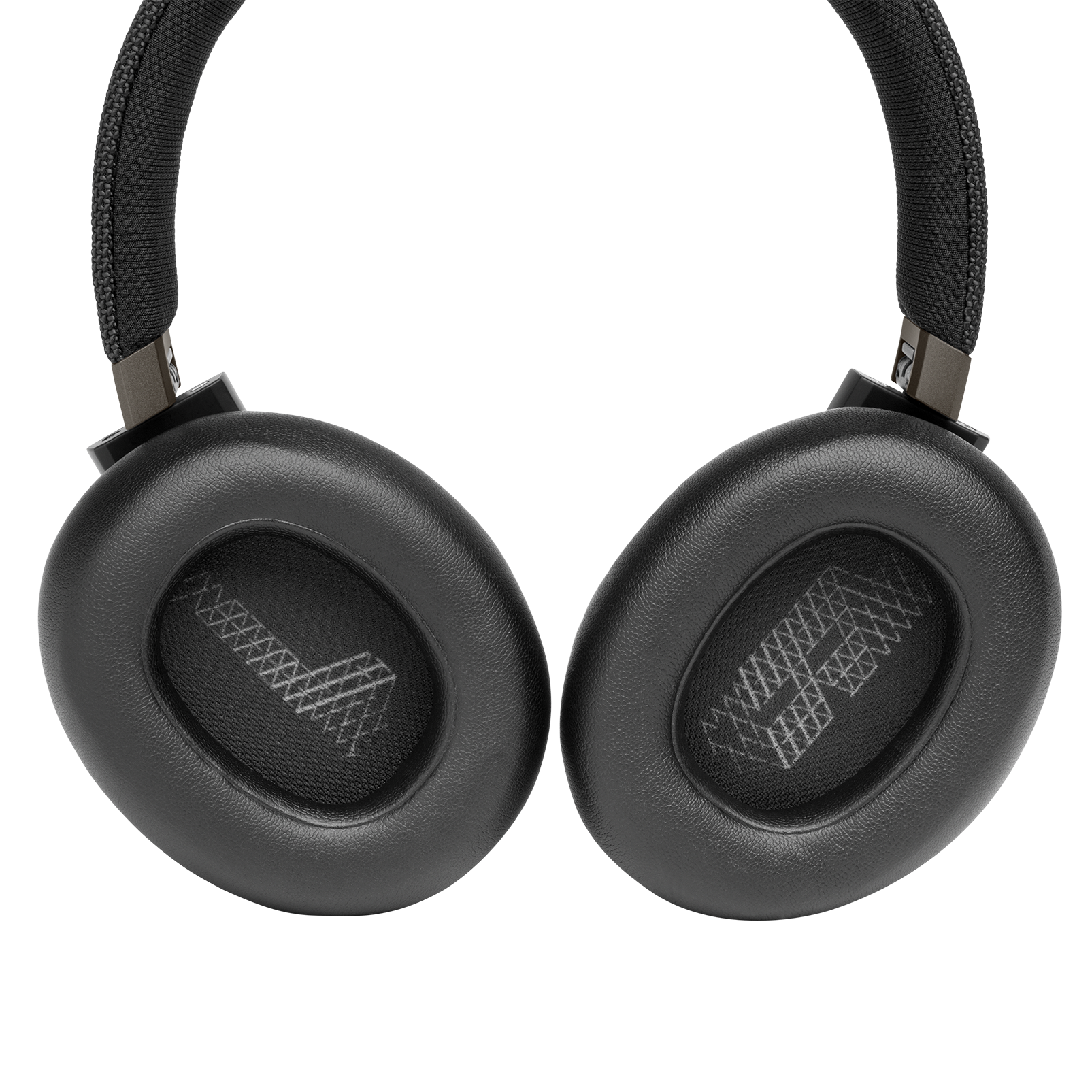 JBL LIVE 650BTNC - Black - Wireless Over-Ear Noise-Cancelling Headphones - Detailshot 3