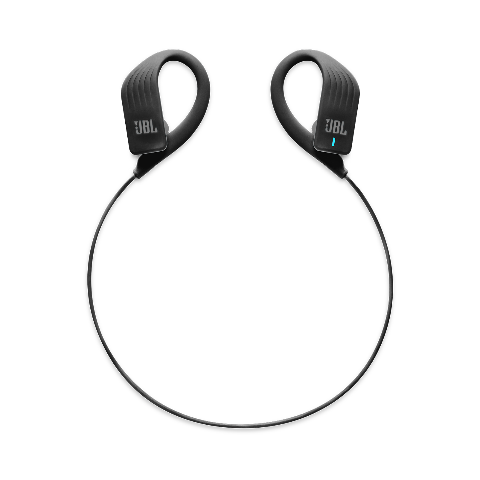 JBL Endurance SPRINT - Black - Waterproof Wireless In-Ear Sport Headphones - Detailshot 2
